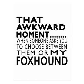 That Awkward Moment Foxhound Postcard