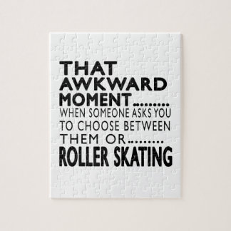 That Awkward Moment Roller Skating Designs Puzzle