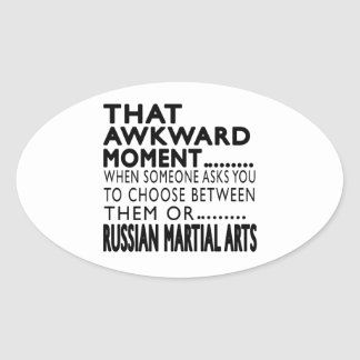 That Awkward Moment Russian Martial Arts Designs Sticker