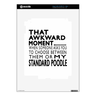 That Awkward Moment Standard Poodle Decal For The iPad 2