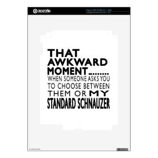 That Awkward Moment Standard Schnauzer Decals For The iPad 2