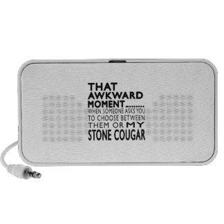 That Awkward Moment Stone cougar Designs Travel Speaker