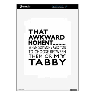 That Awkward Moment Tabby Designs iPad 2 Decal