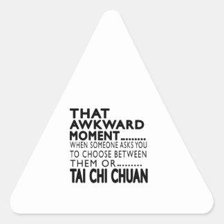 That Awkward Moment Tai Chi Chuan Designs Sticker