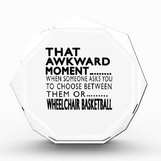That Awkward Moment Wheelchair Basketball Designs Award
