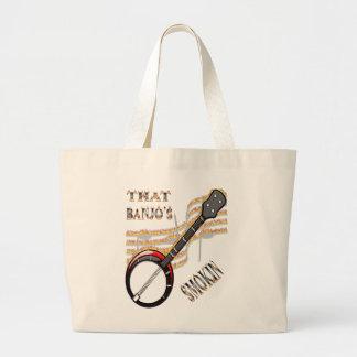 That Banjo's Smokin Canvas Bag