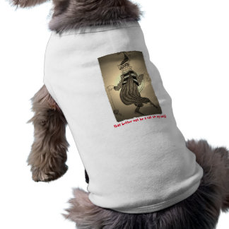That Better Not Be a Cat on My Back Doggie Tank Shirt