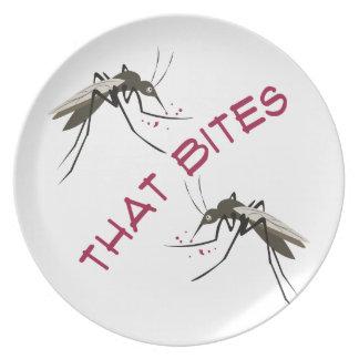 That Bites Dinner Plate