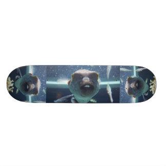 That Bucktooth Fish Skateboard