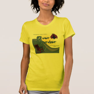 That Cabin Over Yonder Yellow T T-Shirt