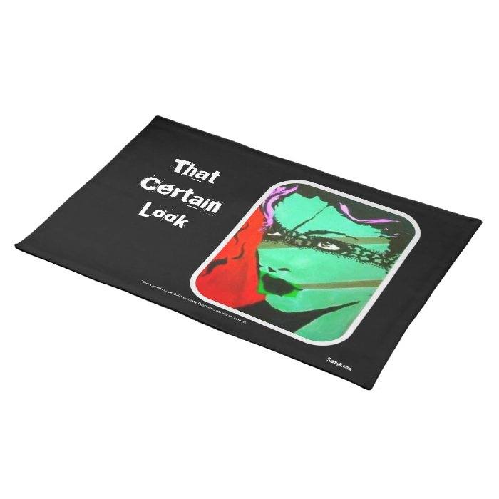 'That Certain Look' American MoJo Placemat