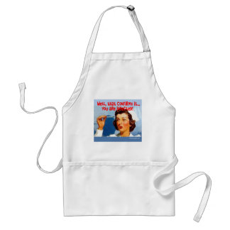 That Confirms it - You ARE Infected! Adult Apron