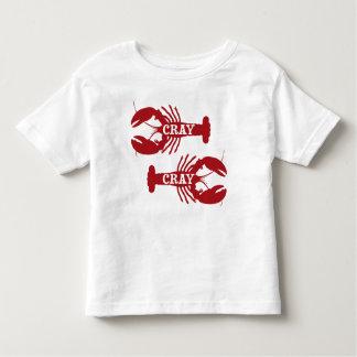 That Cray Cray Crayfish Crustacean Toddler T-shirt