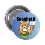 That Crazy Spaghetti Cat Pin