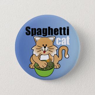 That Crazy Spaghetti Cat Pinback Button