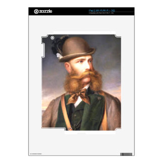 That fabulous Beard Decals For iPad 2
