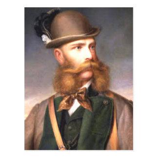 That fabulous Beard Postcard