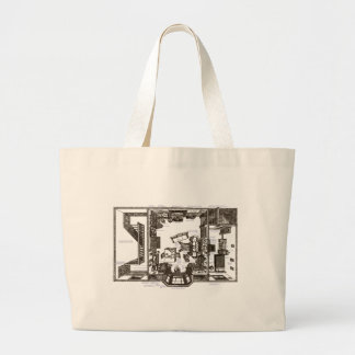 That Famous Victorian Flat Annotated Jumbo Tote Bag