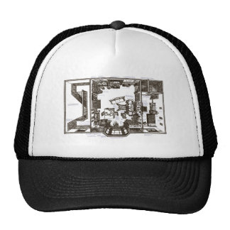 That Famous Victorian Flat Annotated Trucker Hat