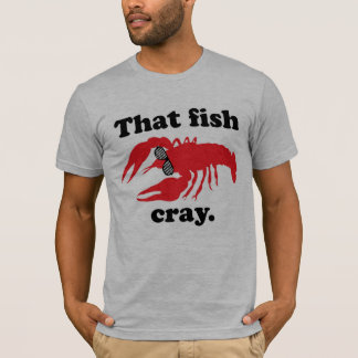 That Fish Cray Men's American Apparel Tee