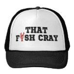 that fish cray trucker hat
