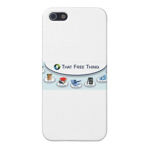 That Free Thing iPhone 5/5S Cover