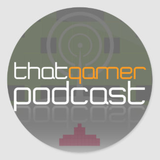That Gamer Podcast Stickers