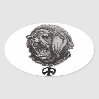 THAT GORILLA SWAGGER OVAL STICKER