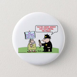 that government  is best which governs least pinback button