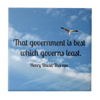 That government is best which governs least tiles