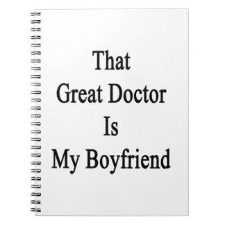 That Great Doctor Is My Boyfriend Spiral Note Book