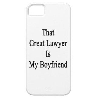 That Great Lawyer Is My Boyfriend iPhone 5 Case