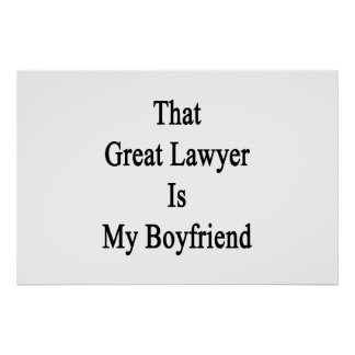 That Great Lawyer Is My Boyfriend Poster
