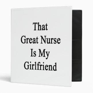 That Great Nurse Is My Girlfriend Binder