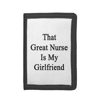 That Great Nurse Is My Girlfriend Trifold Wallet