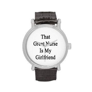 That Great Nurse Is My Girlfriend Wristwatches