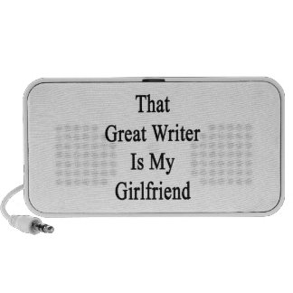 That Great Writer Is My Girlfriend Speaker System