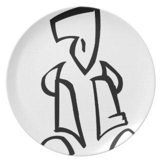 That Guy Melamine Plate