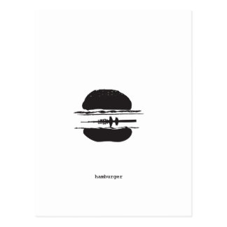 That Hamburgers Postcard