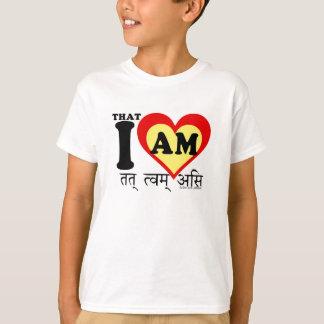 That I am, on sanscrit T-Shirt