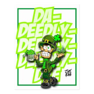 """THAT IRISH GUY: """"DEEDLY-DEEDLY-DEEDLY-DEE"""" POSTCARD"""