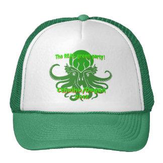 That is not dead which can eternal lie trucker hat