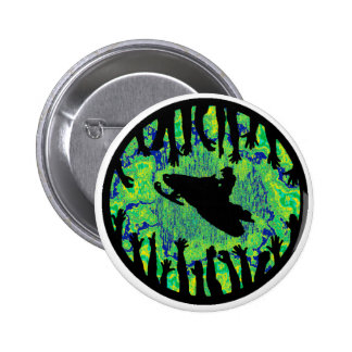 THAT IS SNOWMOBILING PINBACK BUTTON