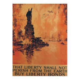 That Liberty Shall Not Perish From The Earth Postcard