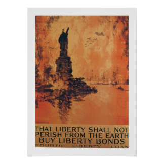 That Liberty Shall Not Perish From The Earth Poster