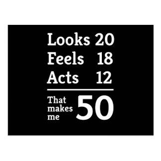 That Makes Me 50 Postcards