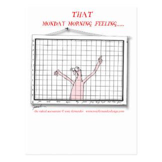 that monday morning feeling, tony fernandes postcard
