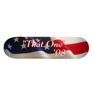 """That One"" '08 Skateboard Deck"