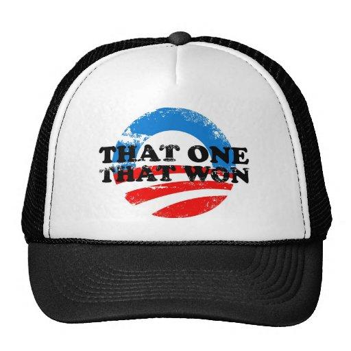 THAT ONE THAT WON TRUCKER HAT