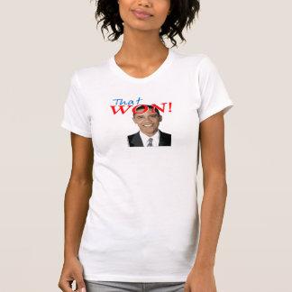 That One Won Obama T-shirt
